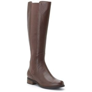 Cole Haan Jodhpur Knee High Riding Boots Leather